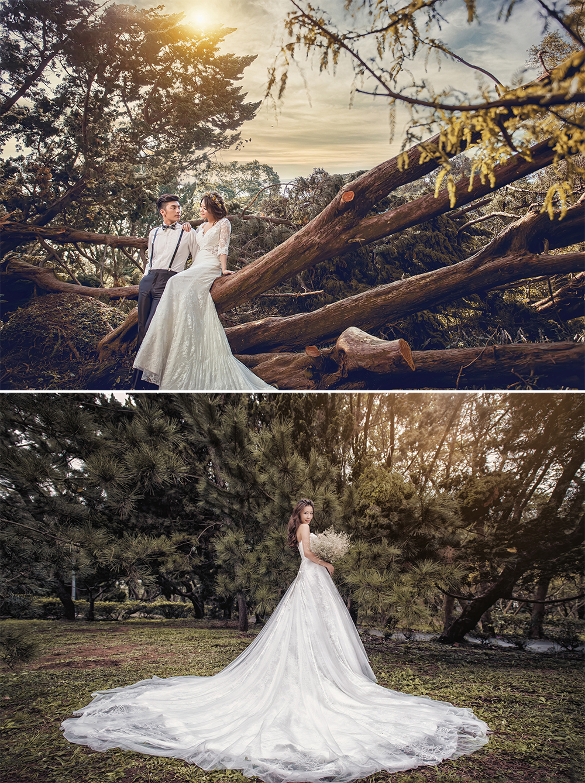 台灣婚紗照外拍景點 - 花卉試驗中心