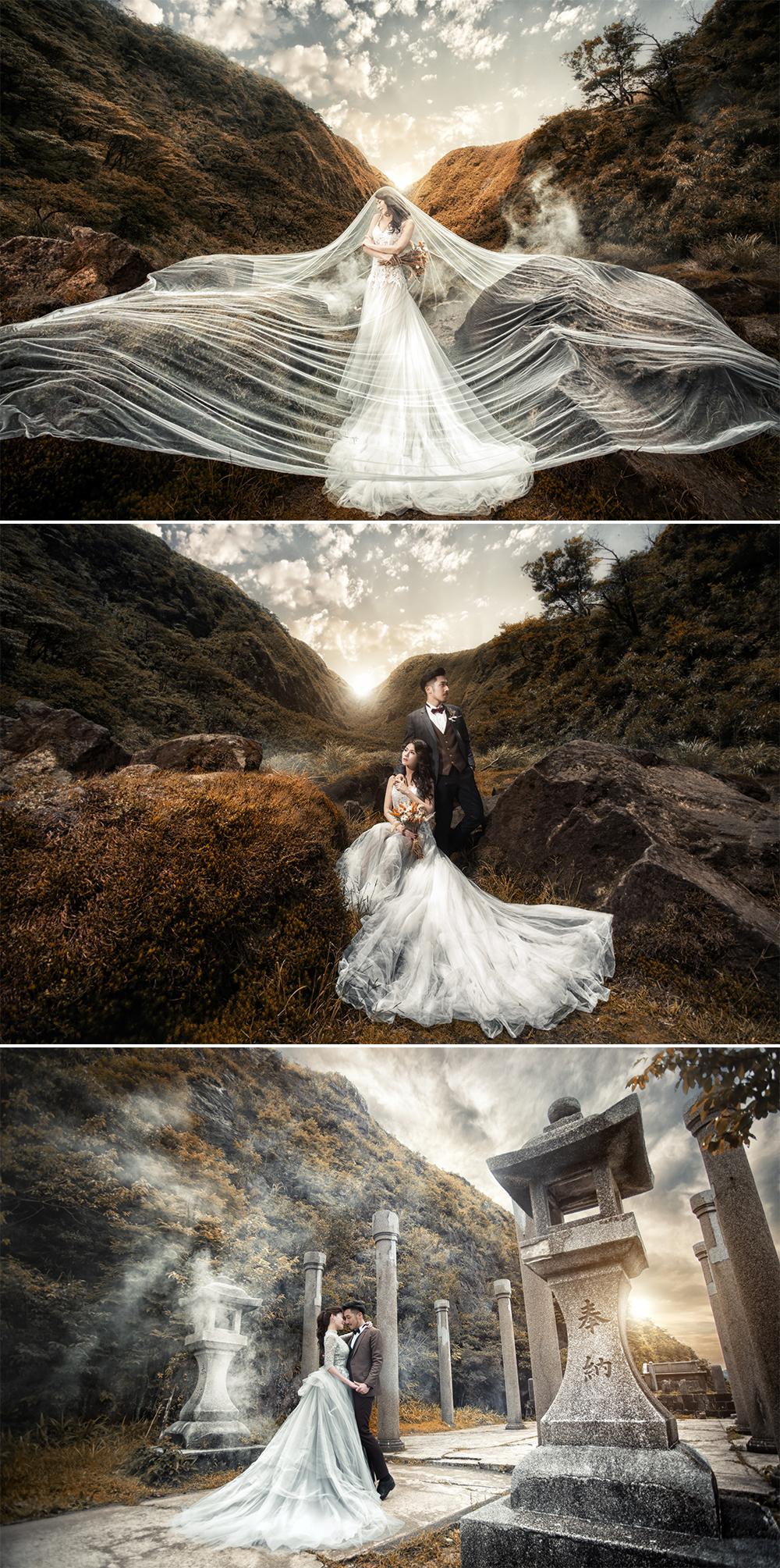 台灣婚紗照外拍景點 - 九份黃金博物館
