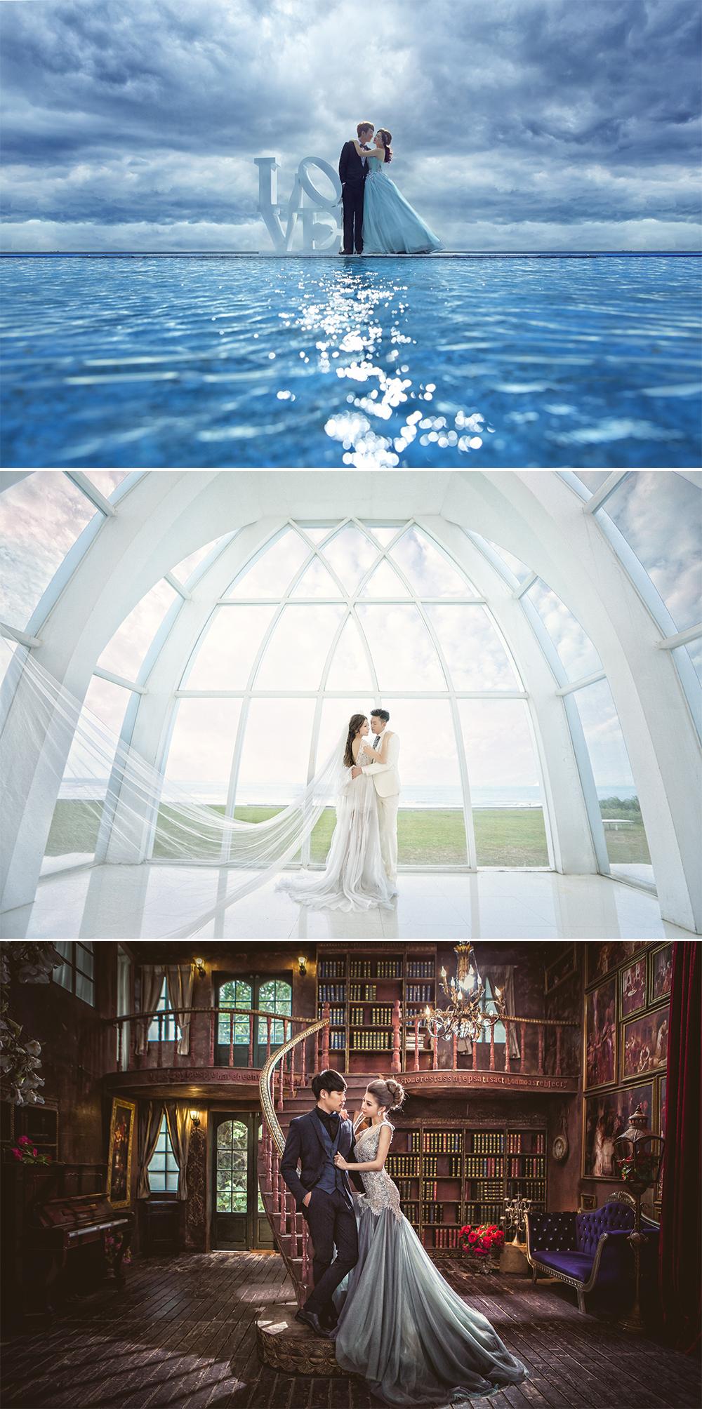 台灣婚紗照外拍景點 - 淡水莊園