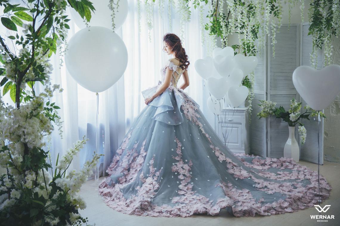 婚纱手绘清晰大图